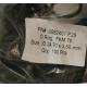 Уплотнительное кольцо JISB2401 P25 ID 24,70 x CS 3,50 mm FKM75 Витон